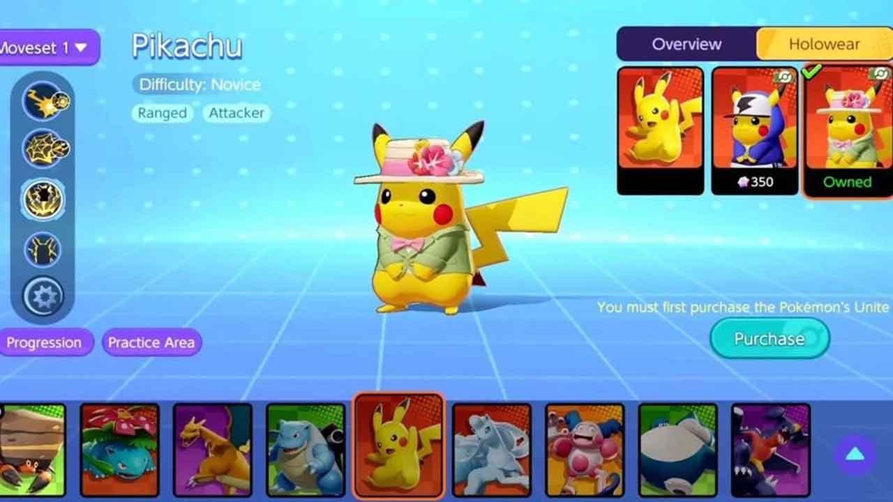 El primer parche de Pokémon Unite equilibrará los pokémon