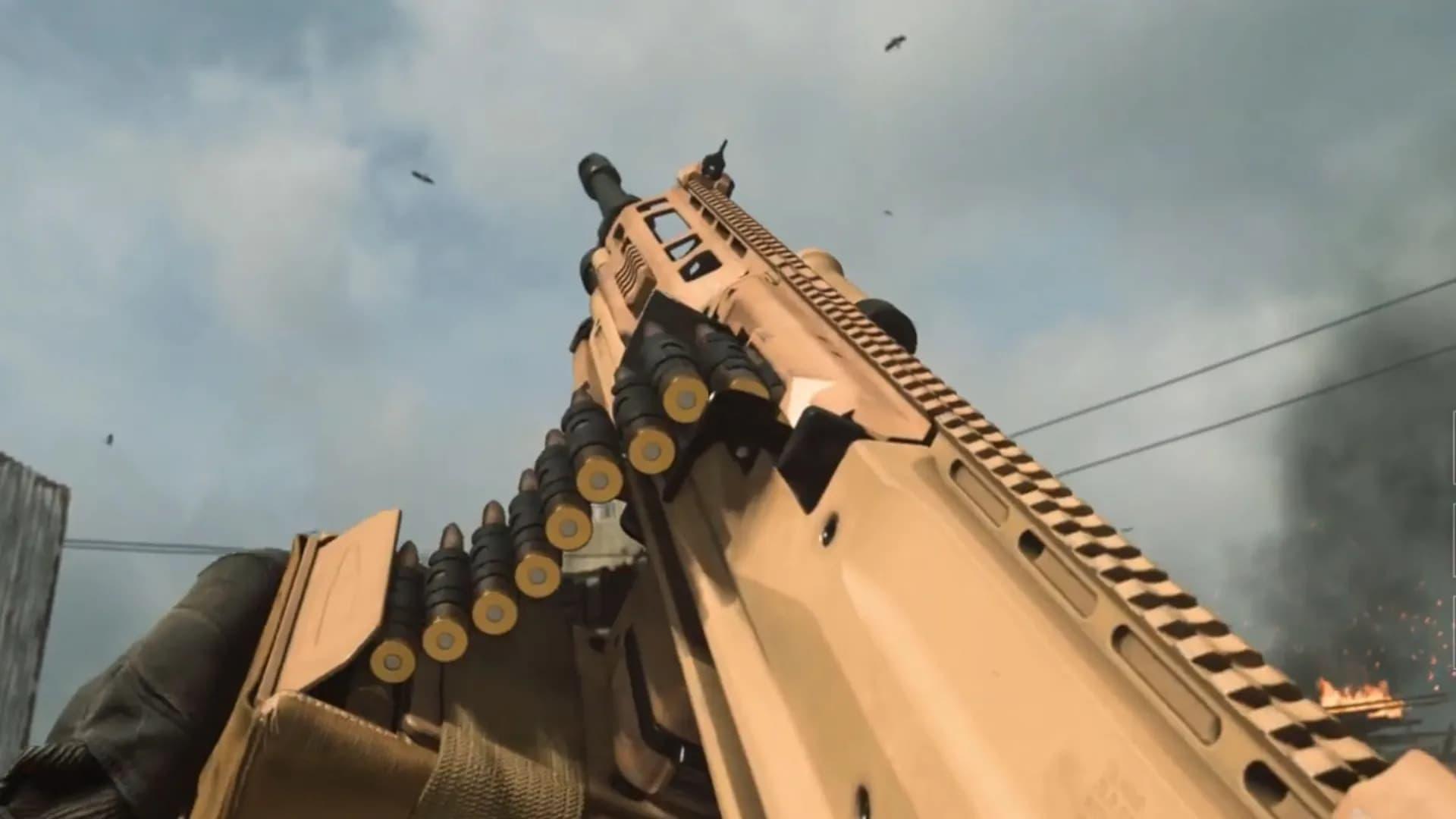 La Raal LMG será el nuevo arma en llegar a Warzone