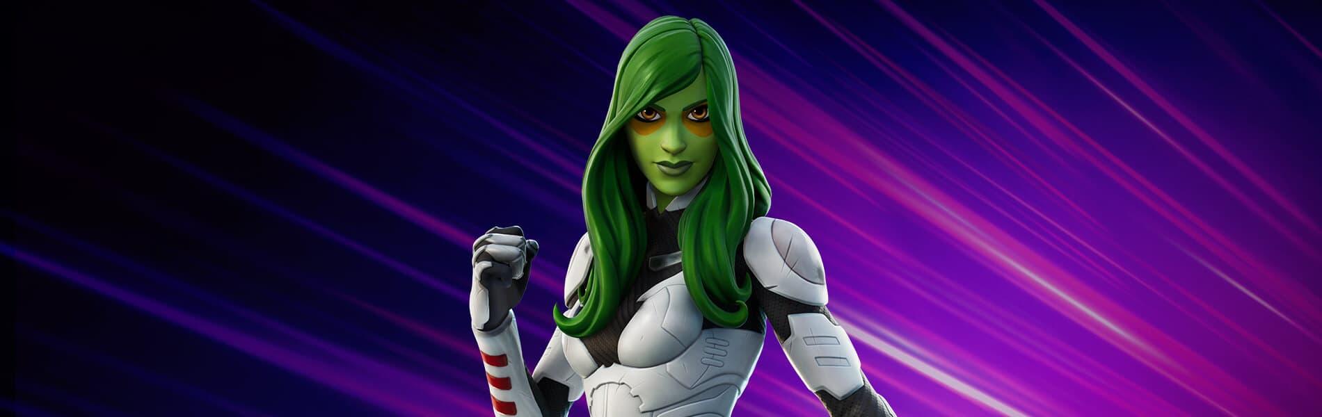 Así es al skin de Gamora de Guardianes de la Galaxia en Fortnite | Kyaooo