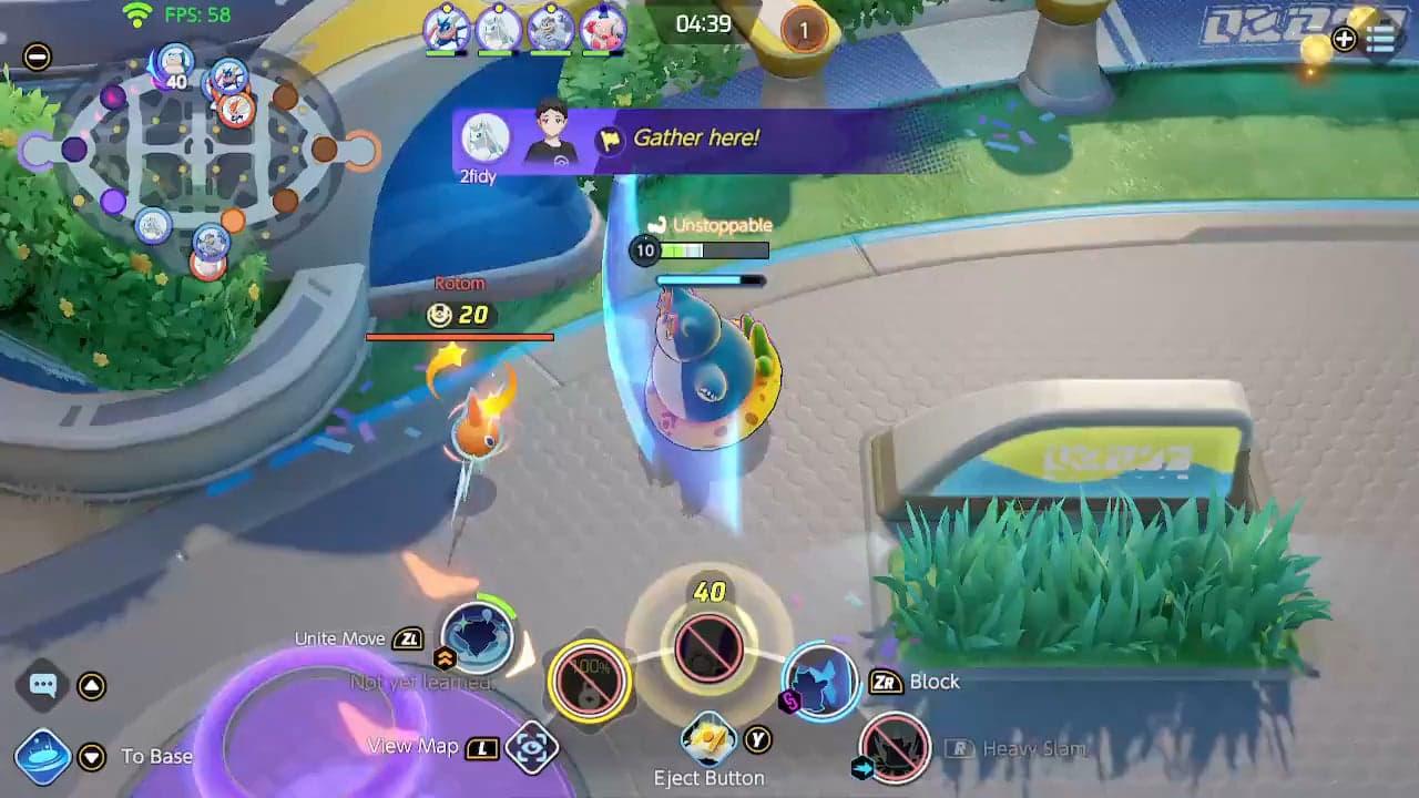 El truco de Snorlax con Rottom que debes usar en Pokémon Unite