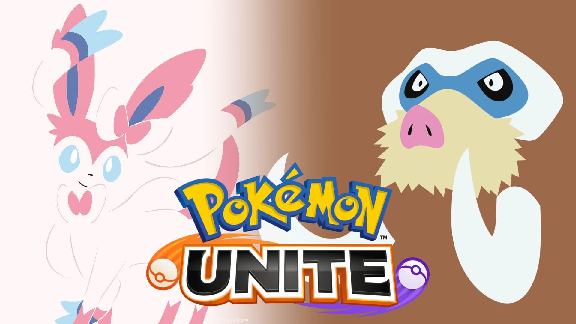 Sylveon y Mamoswine serán los siguientes en llegar a Pokémon Unite