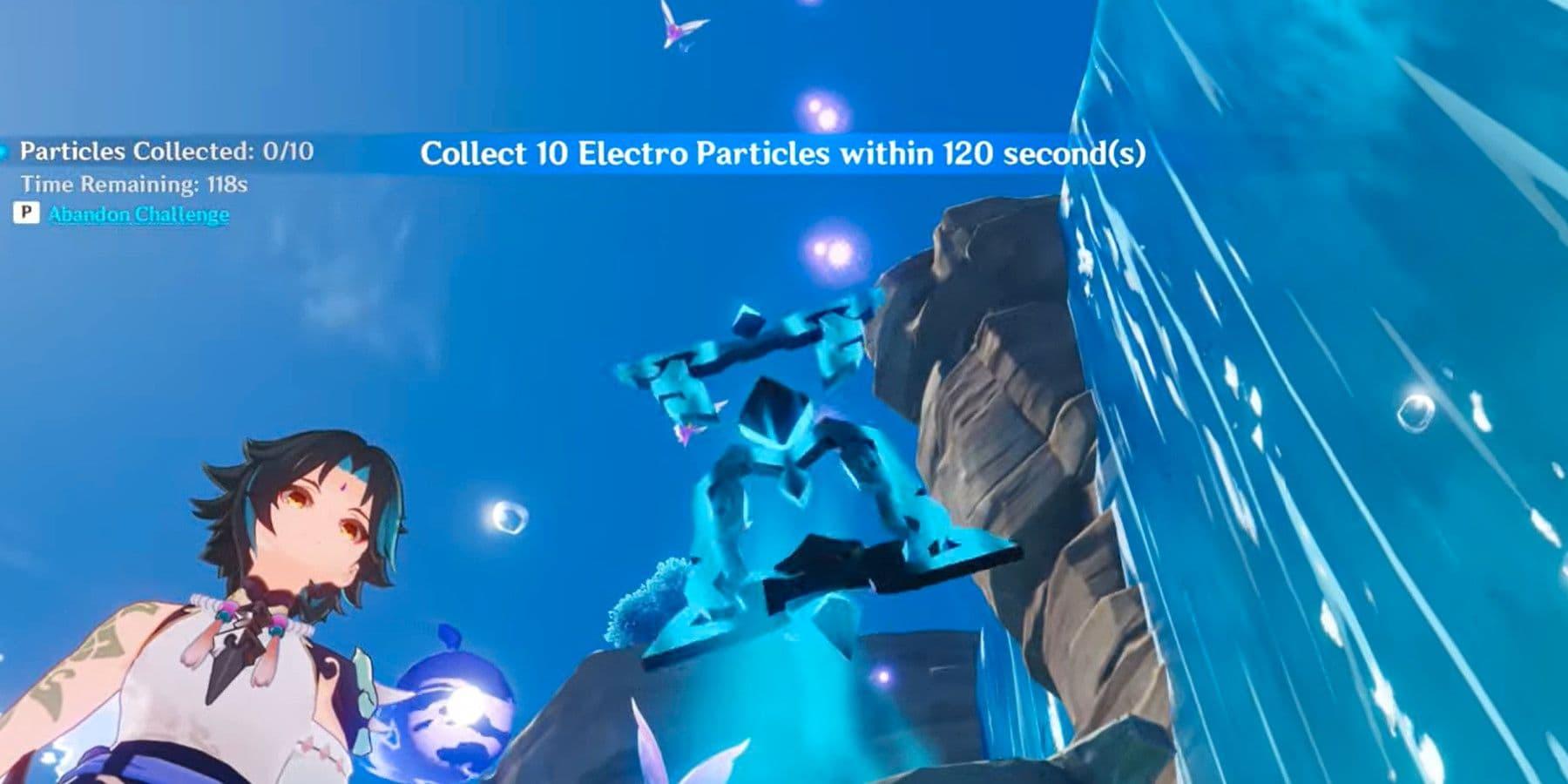 Cómo coger partículas electro en Genshin Impact   Kyaooo