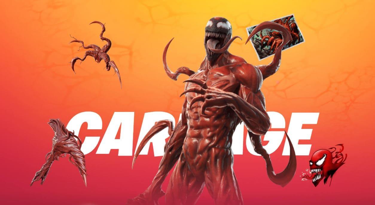 Cómo desbloquear el aspecto de Carnage en Fortnite | Kyaooo