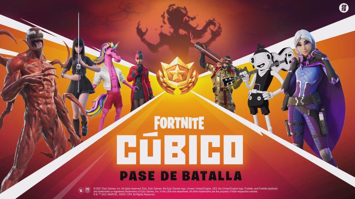 Así es el nuevo pase de batalla de la temporada 8 de Fortnite | Kyaooo