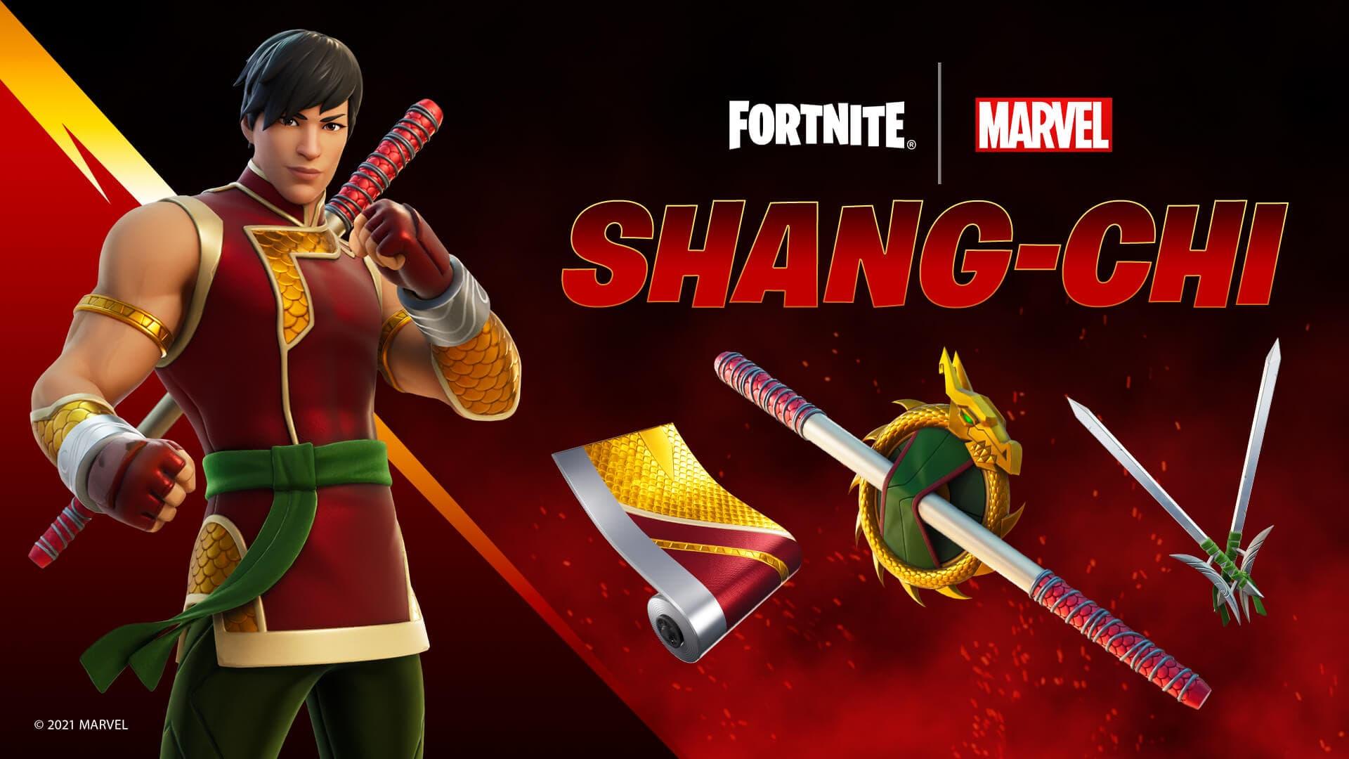 Así es la skin de Shang-Chi de Marvel en Fortnite | Kyaooo