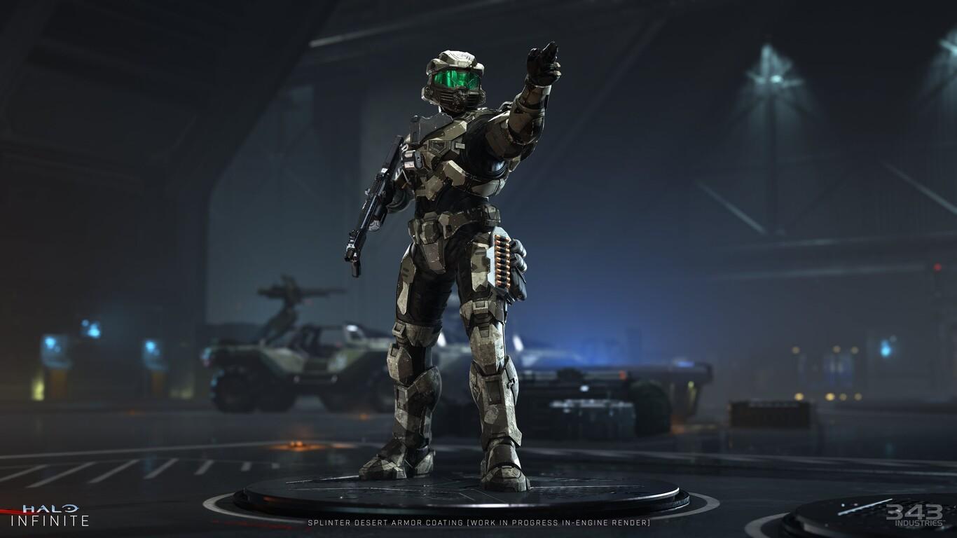 Así será el competitivo de Halo Infinite