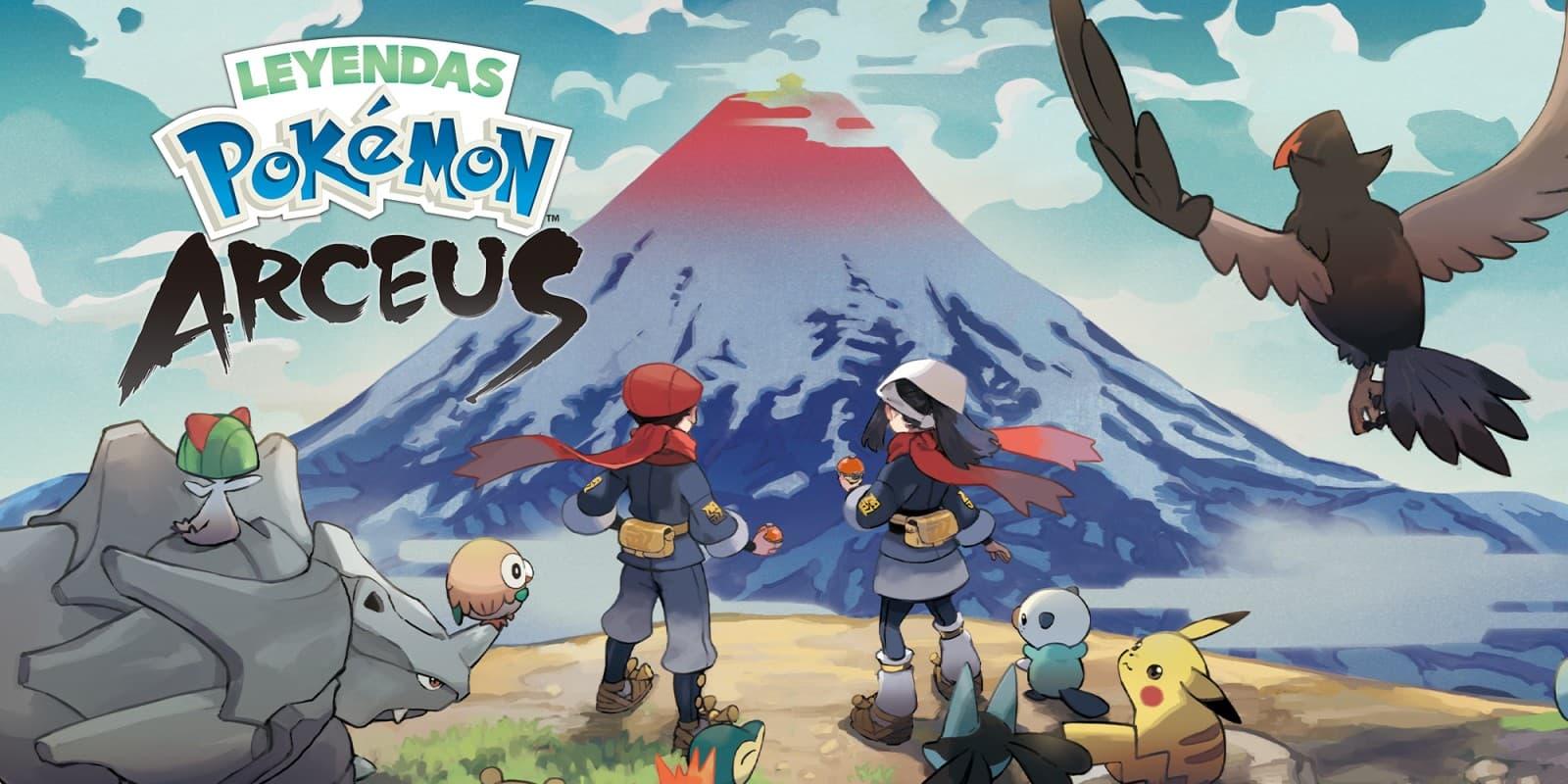 Las nuevas formas y pokémon de Leyendas Pokémon: Arceus | Kyaooo